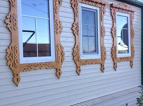 Утеплённые окна ПВХ для частного деревянного дома