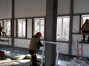 Окна ПВХ для промышленного помещения