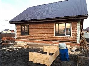 Окна из ПВХ для загородного деревянного дома
